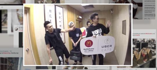 La corsa di McDonald'sper le consegne di cibo a domicilio