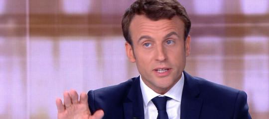 """Macron: il caso Benalla è """"una tempesta in un bicchier d'acqua"""""""