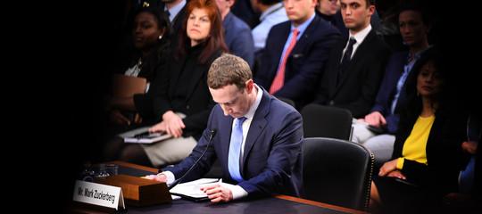 facebook crollo borsa