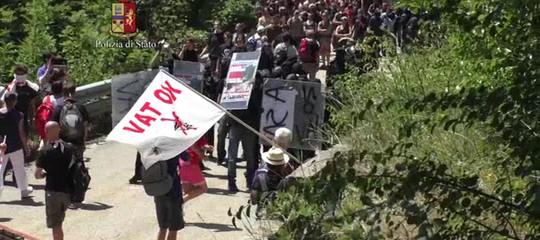 No Tav: marcia di protesta in Val di Susa, 20 persone denunciate