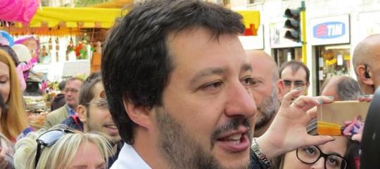 Salvini: l'allarme razzismo è un'invenzione della sinistra
