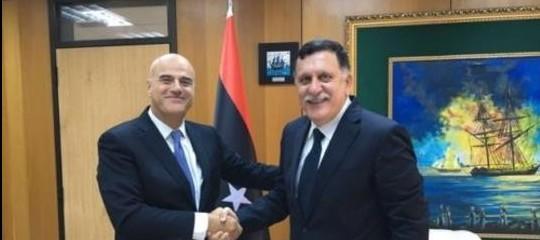 Petrolio gas Eni Libia Farraj DescalziIdrocarburi