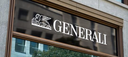 Generali: utile primo semestre a 1,329 mld (+8,8%), premi +6,5%