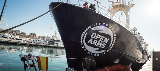 Migranti: Open Arms, 87 soccorsi in acque internazionali