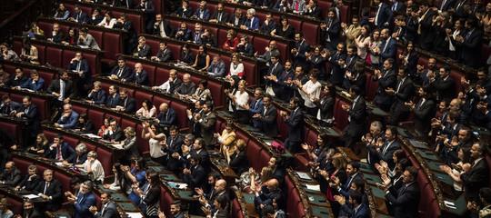 L'esordio da record per i parlamentari di Lega eM5s: tutti i presenti in aula
