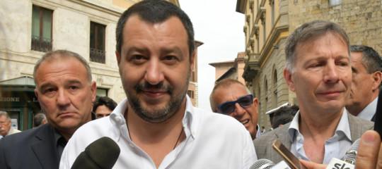 """Salvini sulla Legge Mancino: """"Alle idee non si risponde con le manette"""""""