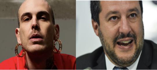 Salvini è diventato il bersaglio preferito dei rapper italiani