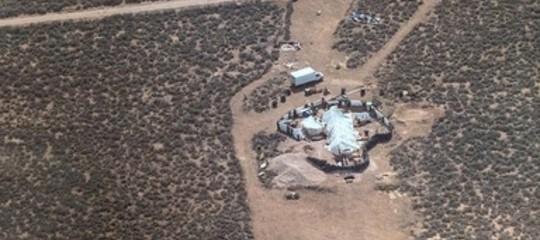 Campo dell'orrore in New Mexico, la polizia libera 11 bambini