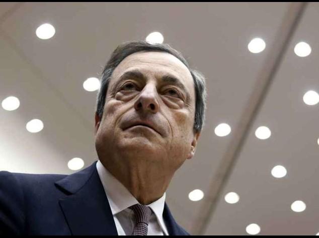 """Bce: 60 mld al mese per ripresa Draghi, """"l'economia migliora"""""""