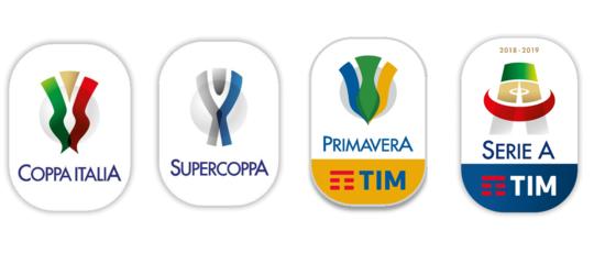 Presentati i nuovi loghi della Serie A e della Coppa Italia