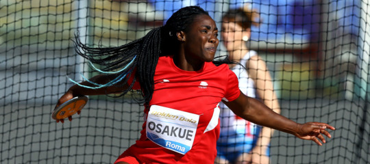 Atletica:DaisyOsakuesi qualifica per la finale lancio del disco ai Campionati europei