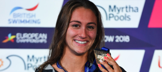 Nuoto: europei, Quadarella oro sui 400m stile libero