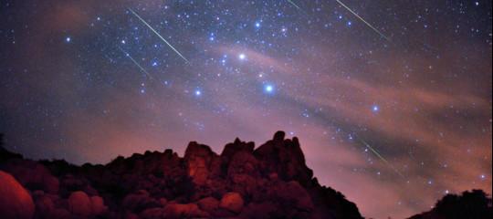 È domenica 12 agosto la notte delle stelle cadenti
