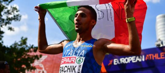 Atletica: Europei, bronzo all'azzurro Rachik nella maratona