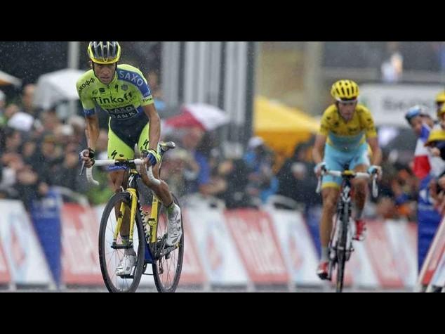 Tour2014: Nibali, nel finale ho sbagliato il rapporto
