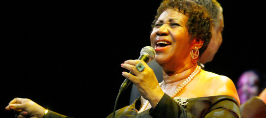 Aretha Franklin morta