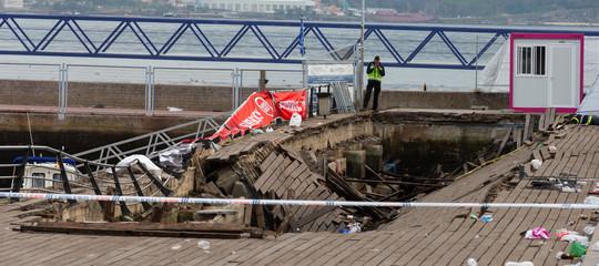 Spagna: crolla la passerella al Festival diVigo, almeno 226 feriti
