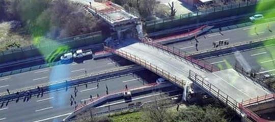 Tutti i ponti crollati recentemente in Italia