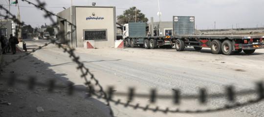 M.O: Israele riapre confine Kerem Shalom con la Striscia di Gaza
