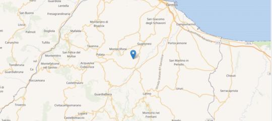 Scossa di terremoto in Molise. Magnitudo 5,2, ma i danni sono lievi