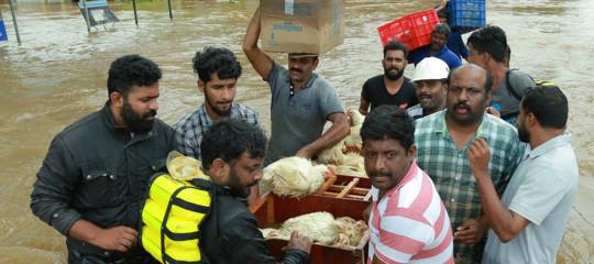 India: nuovo bilancio inondazioni nel Kerala, 324 morti