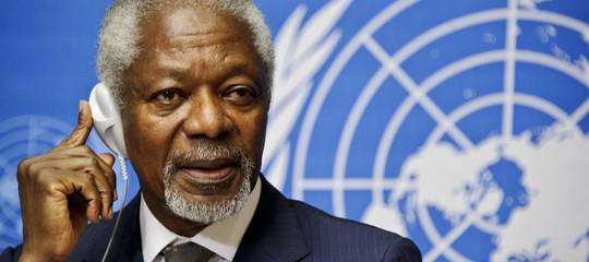 E' morto Kofi Annan, ex segretario generale Onu