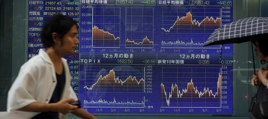 Borsa Tokyo: chiusura in calo, Nikkei-1,33%