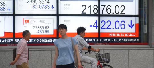 Borsa Tokyo: chiude in perdita, Nikkei -0,68%