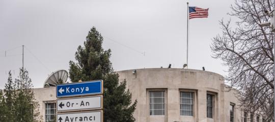 Turchia: spari contro l'ambasciata Usa ad Ankara