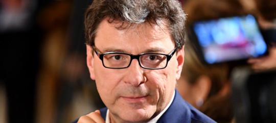 Autostrade: Giorgetti, non mi convince l'idea della nazionalizzazione