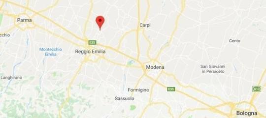 Scossa di magnitudo 3.9 in provincia di Reggio Emilia, nessun danno
