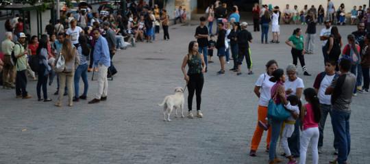 Venezuela: scossa di terremoto 7,7, avvertita anche in Colombia