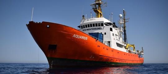 Migranti: media, Italia ha usato 200.000 euro di fondi Ue per respingere Aquarius