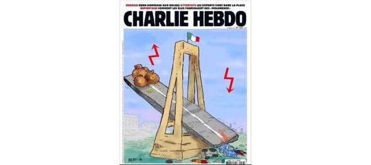 La vera copertina diCharlieHebdosuGenovaforse è peggiore di quellafake