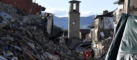 amatrice terremoto ricostruzione
