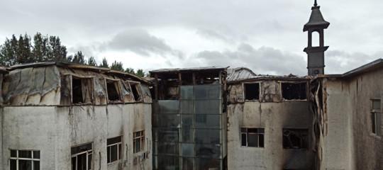 L'incendio di un albergo in Cina ha causato la morte di 18 persone