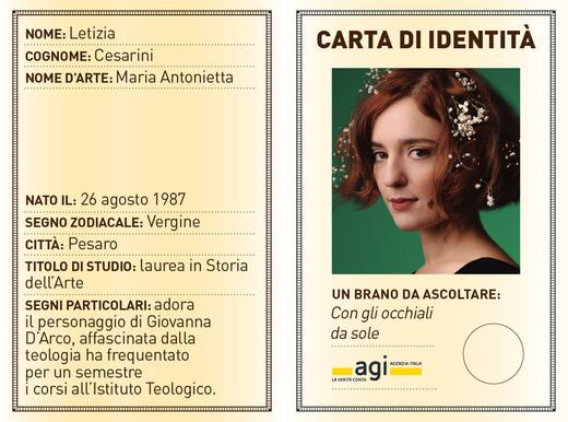 Donna Chi AntoniettaL'unica Italiano Maria È Dell'indie 7Ybgyf6