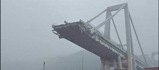 La demolizione dei resti del Ponte Morandi potrebbe iniziare tra una settimana