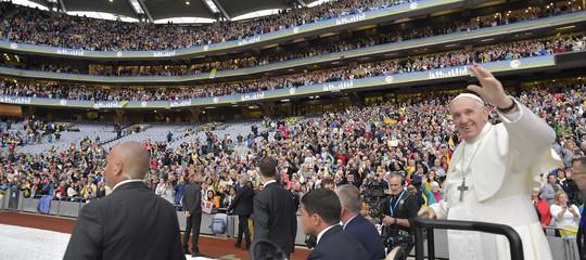Come è andato il primo giorno del Papa in Irlanda