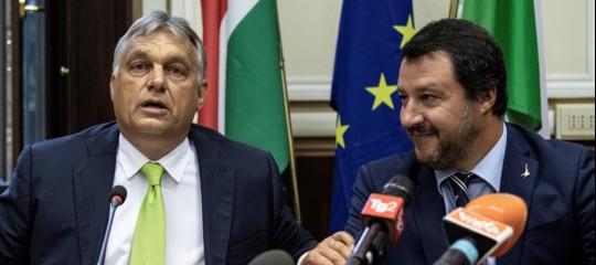migranti italia repubblica ceca ungheria visegrad