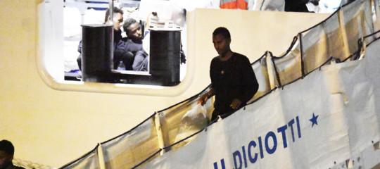 migranti diciotti dove andranno