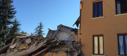 Terremoto: via libera alla ricostruzione del primo condominio ad Amatrice