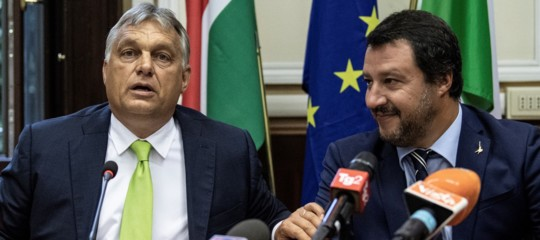 Salvini-Orban: Martina, vogliono riportare l'Ue agli anni '30