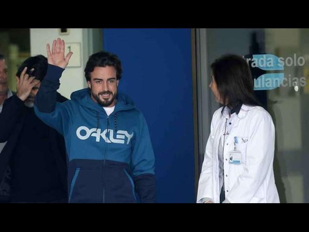 """Mistero Alonso, i medici """"sta bene, ma saltera' Gp Australia"""""""