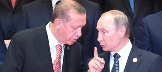 "Siria: Onu, Putin ed Erdogan negozino per evitare ""bagno di sangue"""