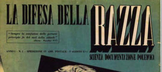 5 settembre 1938: la pagina più vergognosa della storia d'Italia