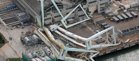 Giappone: almeno 10 morti e 300 feriti per il tifone Jebi