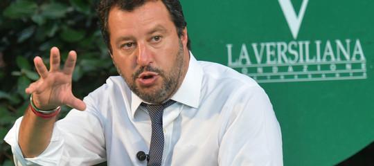 """Salvini sui Fondi Lega: """"Vicenda del passato, gli italiani stanno con noi"""""""