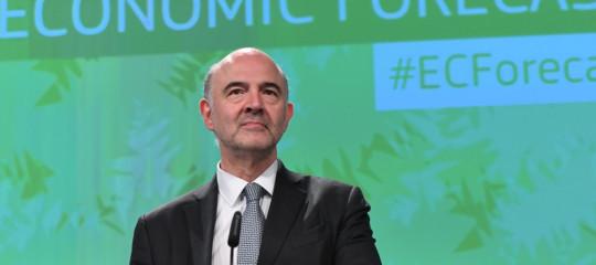 Ue,Moscoviciall'Italia: voglio chiedere che manovra sia realistica e pragmatica