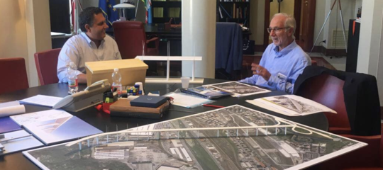 Come sarà il ponte di Genova progettato da Renzo Piano